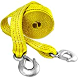 Presa 2-in x 20-ft Heavy Duty 10,000 lb Tow Strap with Hooks