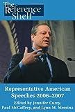 Representative American Speeches 2006-2007, H. W. Wilson Company Staff, 0824210727