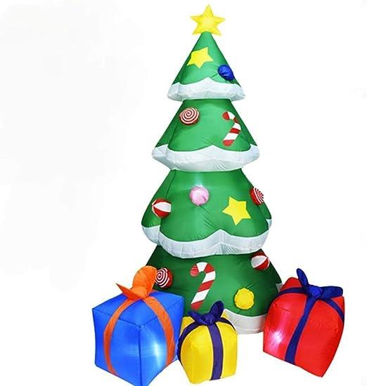 xfyxl Árbol de Navidad Inflable, decoración de Navidad al Aire ...