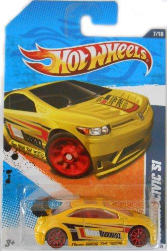 Hot Wheels Honda Civic Si 2011 Nightburnerz 11 7/10 #117/224
