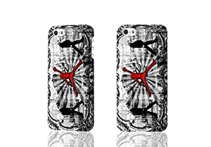 Air Jordan Pattern Hard Durable 3D Cover Rough Skin Case for Apple iPhone 5 5s