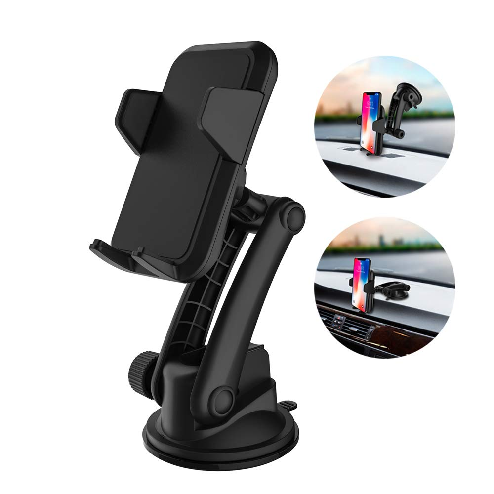 GREAT CELL PHONE HOLDER WILL NOT LET YOUR PHONE FALL