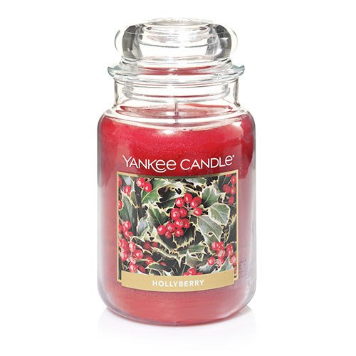 Yankee Candle Hollyberry 22 oz Jar Candle