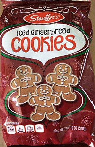 Stauffers Gingerbread Iced Cookies