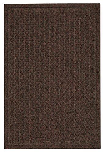 Mohawk Home Impressions Dots Chocolate Door Mat, 3'X4'