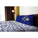 NFL Anthem Baltimore Ravens Bedding Sheet Set: Twin