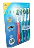 Oral-B Pro-Health Pulsar Battery Powered Toothbrush - Medium-(4 Count)-Carded Pack