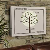 Personalized Gift Family Tree Canvas Print