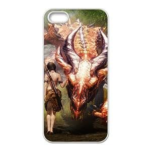 Custom de The Elder Scrolls V Skyrim Desgin Super Quality TPU Case Cover for iPhone 5/5s