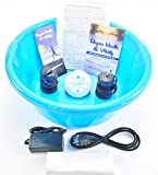 Ionic Cleanse Detox Foot Bath - Detox Foot Spa Machine - Spa Chi Cleanse Unit for Home Use. Our #1 Best Selling Detox Foot Spa. With FREE New Large Blue Basin!