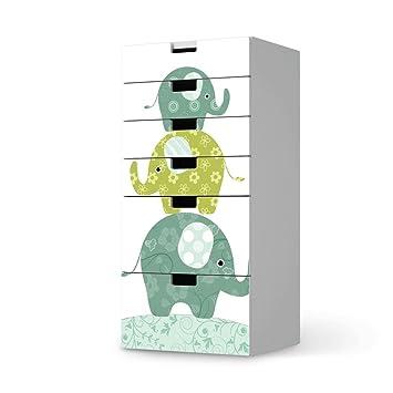 Creatisto Möbelfolie Kinder Möbel Für Ikea Stuva Kommode Kommode 6 Schubladen Klebefolie Sticker Aufkleber Möbelaufkleber Deko Ideen Ikea Möbel
