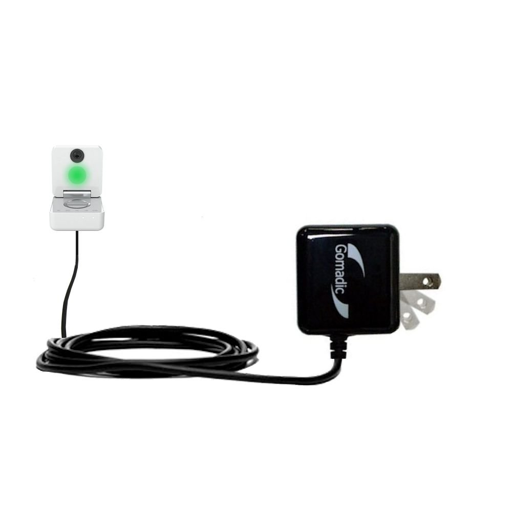 Withings Smart Baby Monitor compatible Advanced Rapid Wall AC Charger - Amazingly powerful home charge design built with Gomadic Brand TipExchange