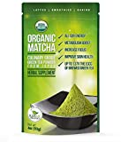 Organic Matcha Green Tea Powder - Japanese Culinary Grade Matcha - 4 oz (113 grams) - Increases Energy and Focus and Naturally Supports Weight Loss - From Kiss Me Organics