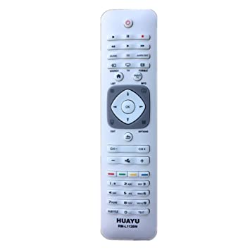 HUAYU RM-L1128W Remote Control For Philips TV: Amazon co uk: Electronics