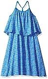 Calvin Klein Little Girls' Flutter Dress, Medium Blue, 6