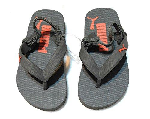 Puma Roma Lp Lav Lodge Sneaker, Hvit / Prinsesse Blå, 10.5 Oss / 12 D Oss grå / Orange