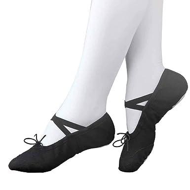 Miss Li Zapatos De Pilates Pointe Para Mujer Zapatillas De ...