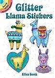 Glitter Llama Stickers (Dover Little Activity Books Stickers)
