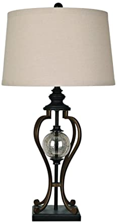 Crestview Collection Whitby Oil Rubbed Bronze Table Lamp Amazon Com