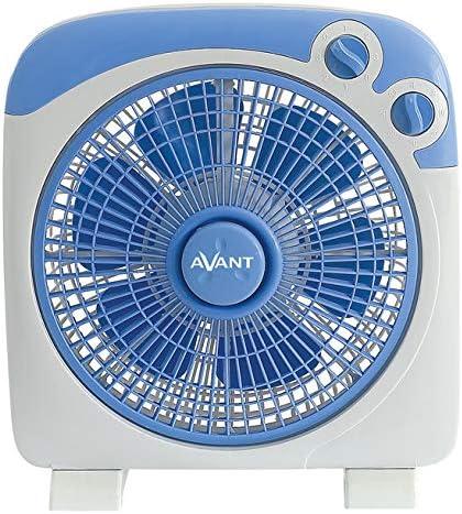 AVANT - Ventilador de Caja 3 Velocidades y Temporizador. Potencia 30W. Tamaño 25Cm