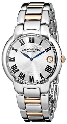 raymond-weil-womens-5235-s5-01659-jasmine-stainless-steel-watch-with-two-tone-link-bracelet