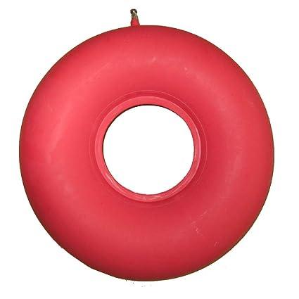 Anti-encentadura cojín de caucho natural engrosado inflable colchón de aire circular para la parálisis