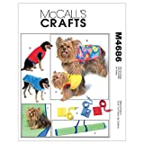 McCall's Patterns M4686 Pet Gift Items, All Sizes