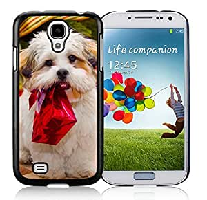 Customized Design Samsung S4 TPU Protective Skin Cover Christmas Dog Black Samsung Galaxy S4 i9500 Case 11 by Maris's Diary