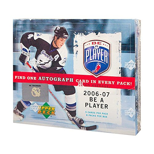(2006-07 Upper Deck Be A Player Signature Hockey Hobby Box )