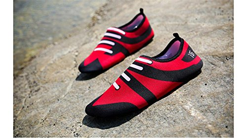 Shoes Lake Women Walking Aqua Shoes Dry Swim Driving Garden Park Boating Water Barefoot Yoga for Beach Quick Men Red SvnA7xS