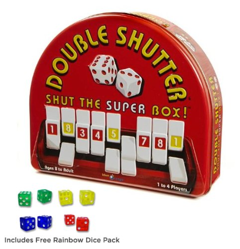 Double Shutter with Free Rainbow Dice Pack by Blue Orange