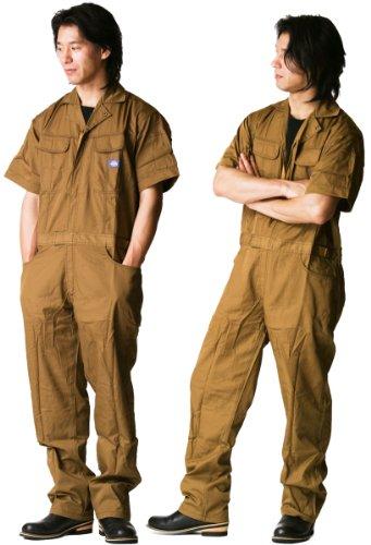 디 키즈 Dickies (야마다 辰) 여름 용 반 팔 ツヅキ 옷 711 브라운 M 사이즈 / Dickies Dickies (Tatsu Yamada) Summer Short Sleeve Tzuki Clothing 711 Brown Medium Size