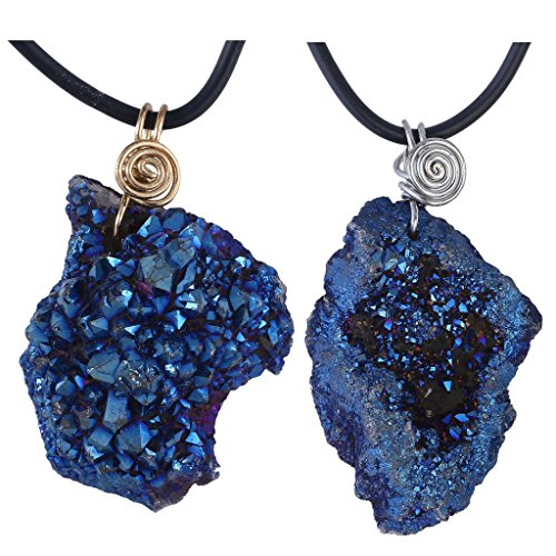 Irregular Natural Pendant Necklace Couples