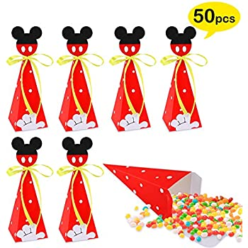 Amazon.com: 12 De Mickey Mouse Chupete collares Baby Shower ...