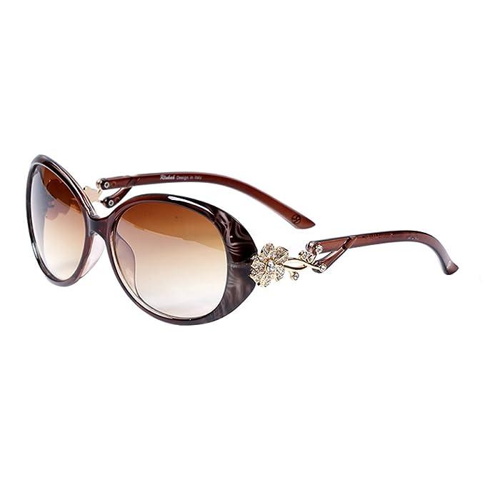 liansan occhiali  LianSan - Occhiali da sole - Donna marrone: : Abbigliamento