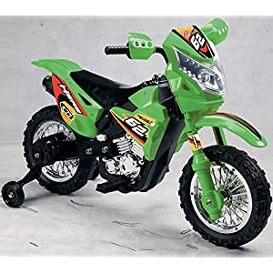 Battery-Operated-6V-Kids-Dirt-Bike-Green