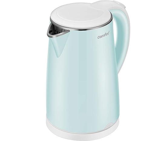 Amazon.com: Tetera eléctrica, calentador de agua rápido, 1.7 ...