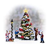 Merry & Bright Christmas Tree Village Accessory Set by The Bradford Exchange