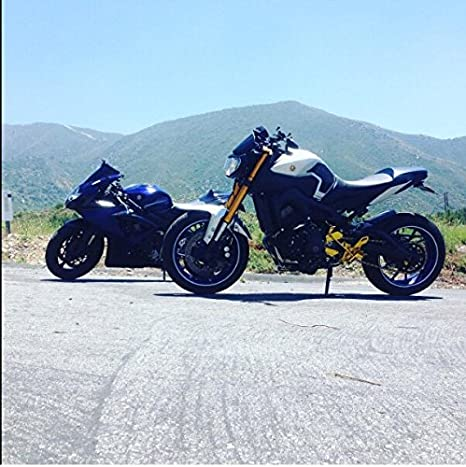 Fits Yamaha FZ-09 Rearsets FZ09 Adjustable Rear Set Foot Sets FJ-09 2014 2015 2016 2017 XSR 900 2016 2017 Issyzone