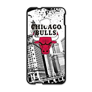Happy Chicago Bulls Brand New And Custom Hard Case Cover Protector For HTC One M7