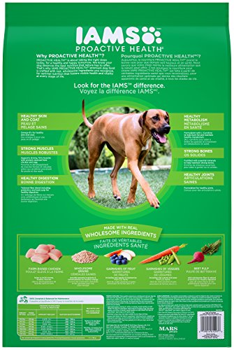 IAMS Proactive Health Dry Dog Food, Large Breed, 30 lbs. (Standard Packaging)
