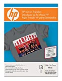 HP Iron-on Transfers for Color Fabrics (6 transfer Sheets, 8.5 x 11 Inches)