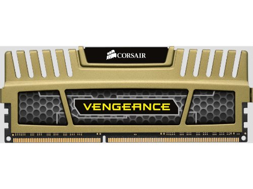 Corsair Vengeance Green 16GB (4x4GB) DDR3 1600 MHz (PC3 12800) Desktop Memory 1.35V ()