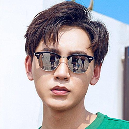 Gafas Gray Sol Conductores Sol Green Color YaNanHome los Inconformista Gafas de Conducción de Sol de de de Coreano polarizados Gafas Hombres dz1EORxqw1