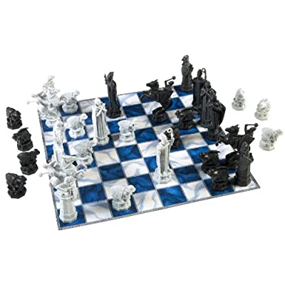 Harry Potter Wizard Chess Set: Toys & Games