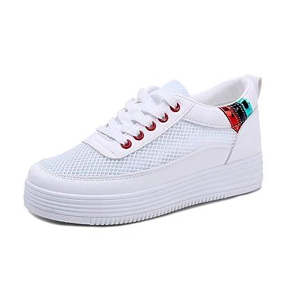 1563091e353a1 Amazon.com: ASO-SLING Women Hidden Heels Platform Wedges Sneakers ...