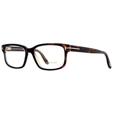 0412edf98f Image Unavailable. Image not available for. Color  Tom Ford FT5313  Eyeglasses 55 055 Coloured Havana