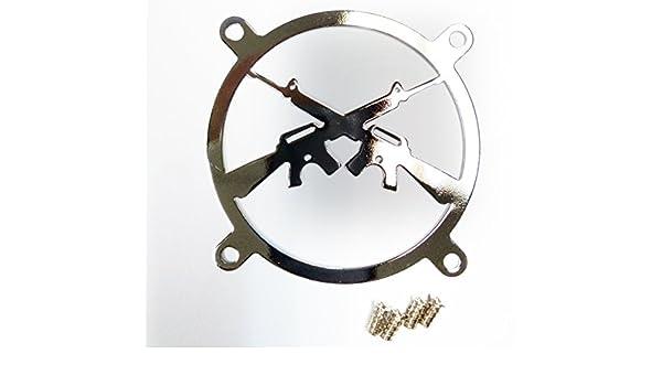 Rejilla para ventilador de 80mm - Decoracion PC y modding ...