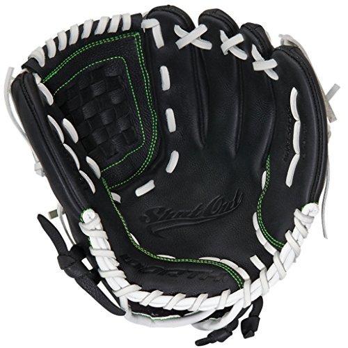 Worth Women's Shutout Fast Pitch Softball Glove, Left Hand, 12.5-Inch, Black
