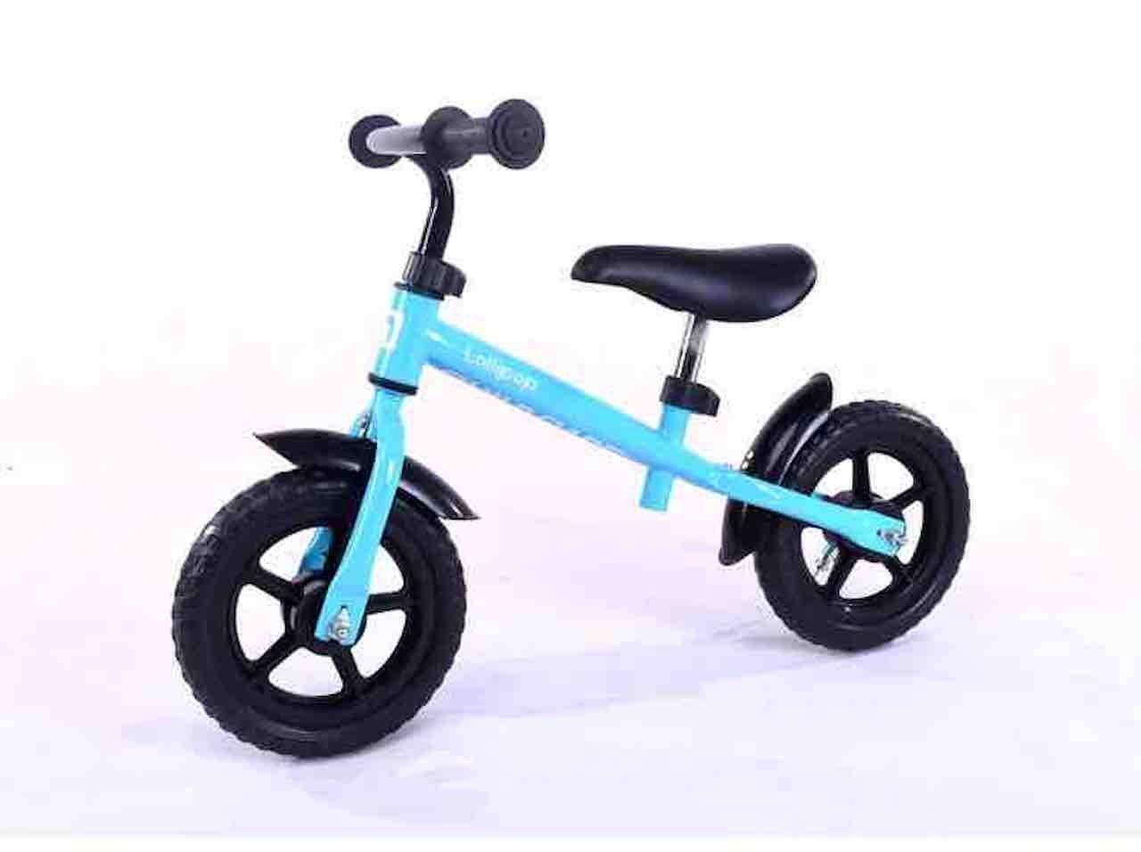 12inch子供バランス自転車、カーボンプラスチックホイール、スチールフレーム、レッド、ブルー、イエロー、ピンク、グリーン B07CVJ7YQN ブルー ブルー